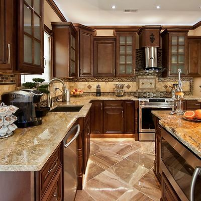 "90"" Kitchen - Geneva All Wood Bulwark and Base Kitchen Cabinets Group Sale KCGN21"