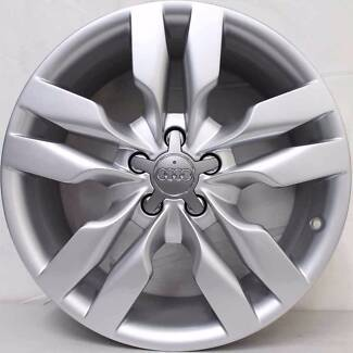19 inch Audi A3 A4 2010 MODEL ALLOY WHEELS SILVER Arncliffe Rockdale Area Preview