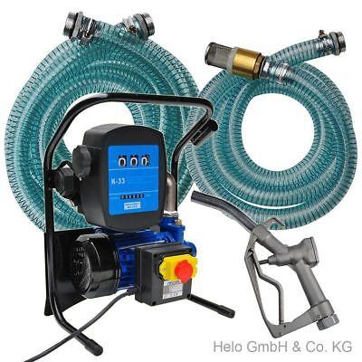 Dieselpumpe Heizölpumpe 600W Pumpe Ölpumpe Kraftstoffpumpe mit Zählwerk