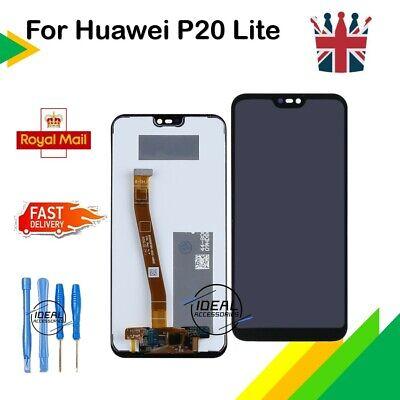 LCD Touch Screen Display Digitizer For Huawei P20 Lite ANE-LX1 L21 NOVA 3e Black