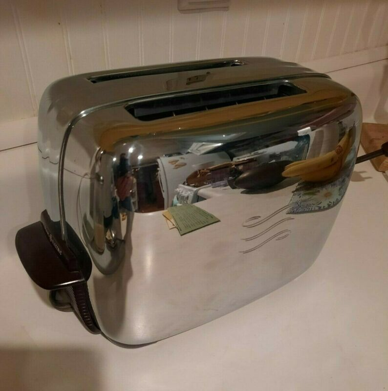 vintage nos General Electric toaster never used
