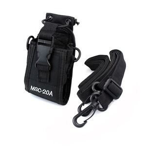 Multi-function Nylon Radio Case Holder for Kenwood/Yaesu/Motorola GP328+/344