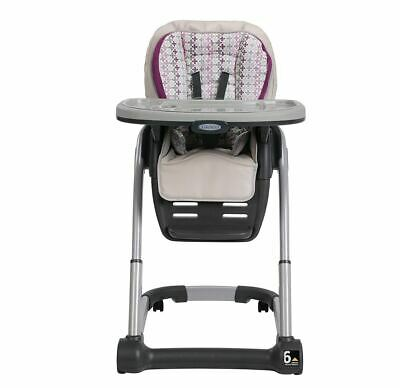 Infant Baby Toddler Convertible Adjustable High Chair 6 in 1 Seating System