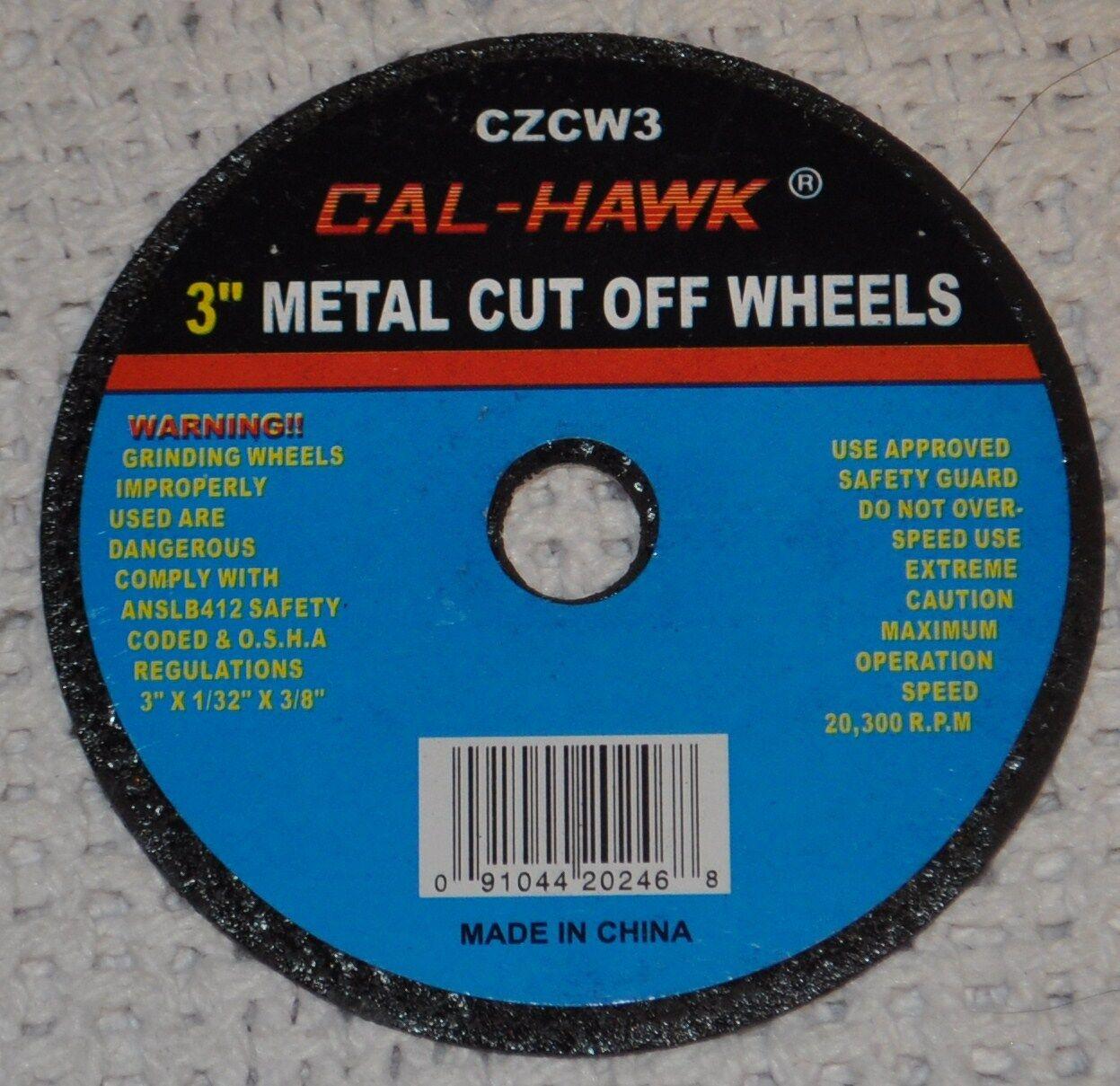 "100 Piece 3"" Inch Metal Cut Off Wheel Disc For Die Grinde..."