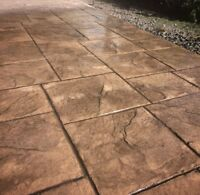 Beautifully Stamped Concrete