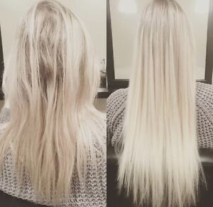 No Heat - No Glue - No Damage! Smallest & Safest Hair Extensions London Ontario image 1
