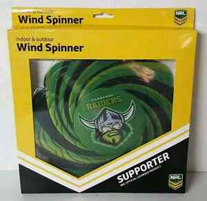 Canberra Raiders NRL Indoor and Outdoor Metal Wind Spinner. Ascot Brisbane North East Preview