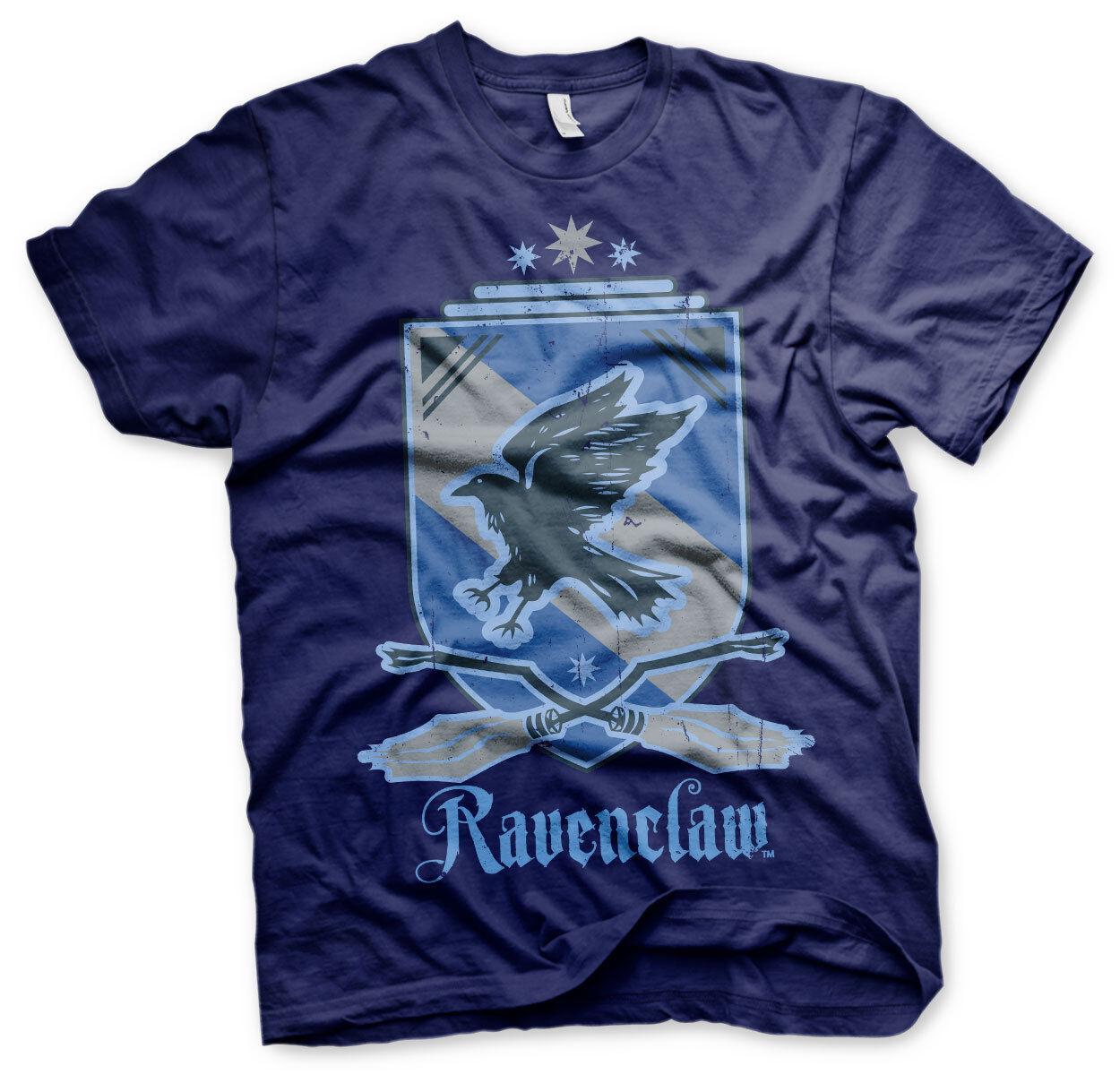 Harry Potter Ravenclaw Rabe Haus Wappen Crest Quidditch Team Männer Men T-Shirt