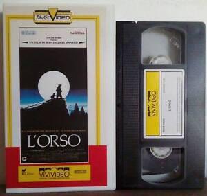 VHS-FILM-Ita-Drammatico-Naturalistico-L-039-ORSO-vivivideo-DGVS-10022-no-dvd-VHS20