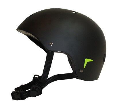 Kinder Skaterhelm Gr. S 48-54cm Fahrrad Helm BMX Skateboard Schutzhelm schwarz (Kinder Schutzhelm)