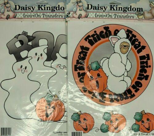 Halloween Daisy Kingdom Iron On Transfers Applique Lot of 5 #