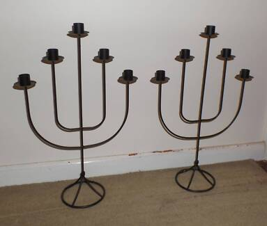 Matching Pair of Candle Stick Holders South Windsor Hawkesbury Area Preview
