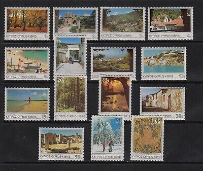 Cyprus - 1985 set, mint, cat. $ 30.30