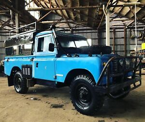 1978 Land Rover Series 3 Ex-Army
