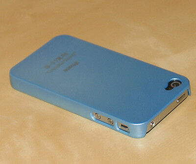 Sky Blue Hard Back Skin Case Cover For Apple iPhone 4S 4 Iphone Sky Blue Skin