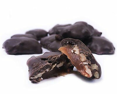 Gourmet Pecan Caramel Clusters with Dark Chocolate by It