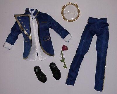 Disney Descendants Coronation Day Ben Doll Outfit Suit & Shoes NEW Auradon Prep