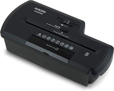 Aurora Au800sd Professional Strip Cut Paper Shredder Cd Credit Card Shredder