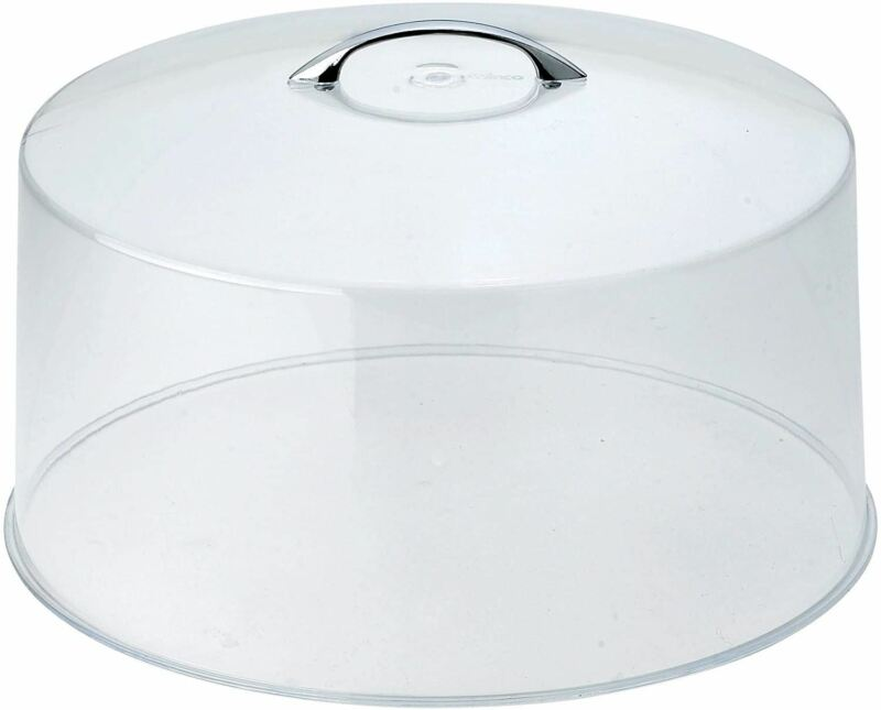 Round Clear Acrylic Plastic Cake Cover Lid