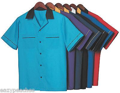Hilton Gm Legend Retro Bowling Shirt Mens Womens Size S Xxl 3Xl King Pin Shirts