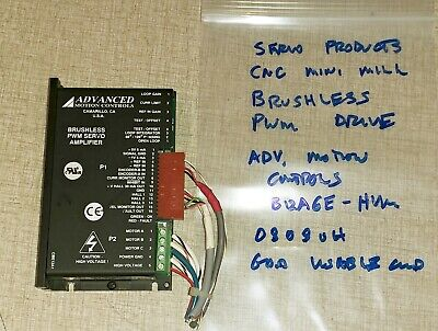 Servo Products Cnc Mini-mill Spindle Motor Drive Advanced Motion Control 0808oh