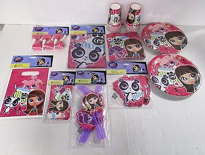 My Littlest Pet Shop Tableware and Decorations plates cups etc- Choose your item