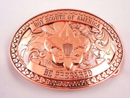 Boy Scouts of America Beautiful Copper BSA Belt Buckle - Great Eagle Gift Idea