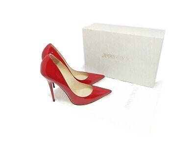 Jimmy Choo Anouk Red Patent Leather ~ UK 6 / EU 39 / US 9