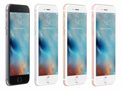 "Apple iPhone 6S 4.7"" Display 16 64 128 GB GSM UNLOCKED Smartphone SRF"