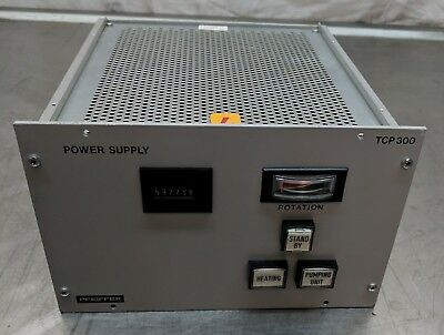 Pfeiffer Tcp 300 Turbo Pump Controller Turbomolecular Uhv Vacuum Mks Amat