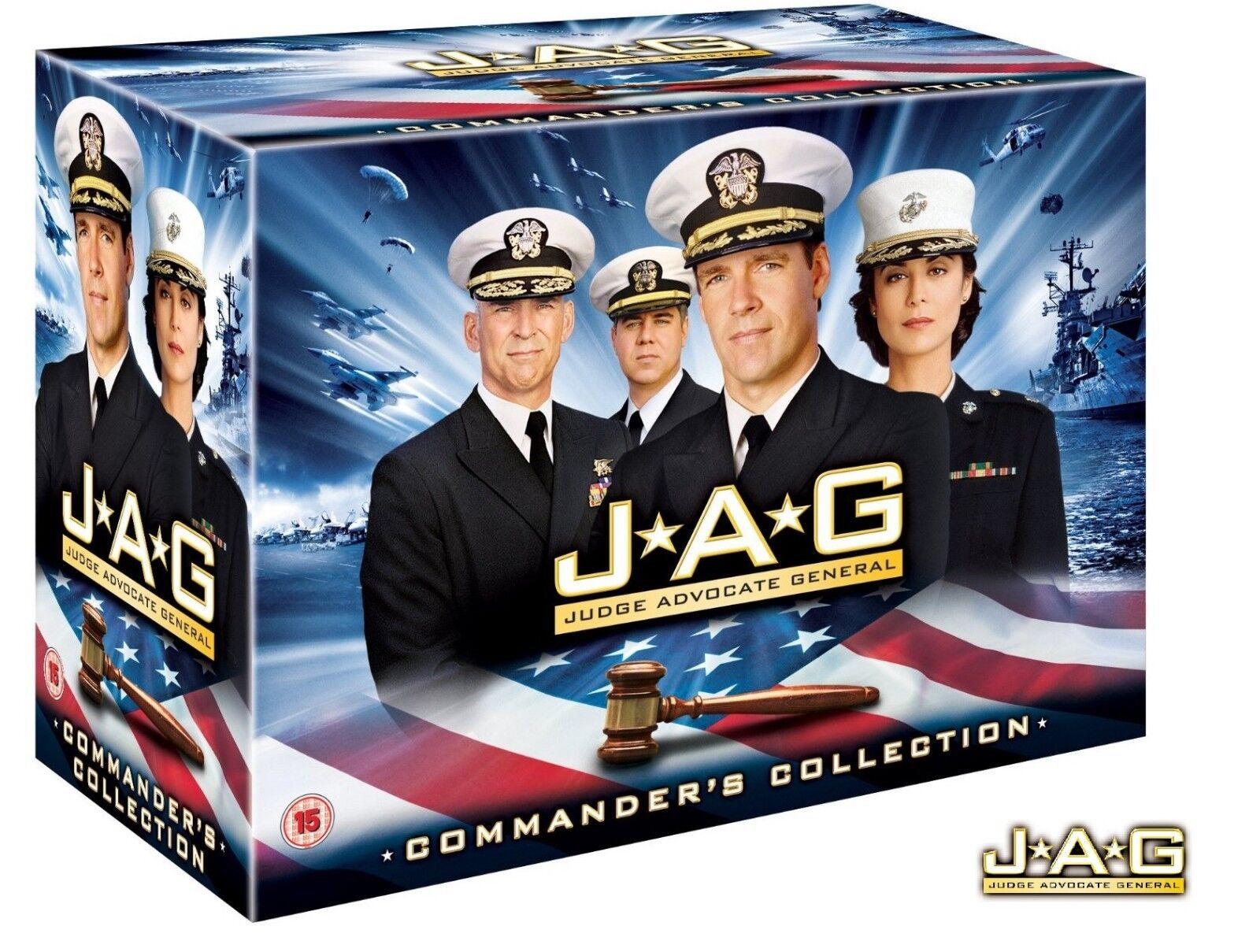 JAG 1-10 BOX  IM AUFTRAG DER EHRE 1-10 DIE KOMPLETTE SERIE DVD