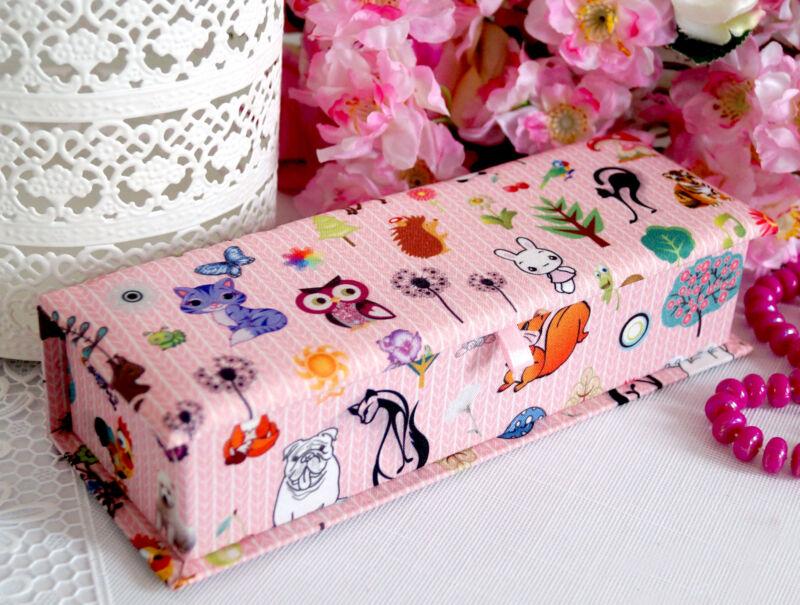 Schmuckkasten Schmuckkästchen Schmuckkoffer Schmuckschatulle rosa Mädchen Kinder Rosa