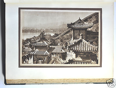 PAGEANT OF PEKING CHINA PHOTO GRAVURE ALBUM VANDYCK MENNIE 1st EDITION 1920