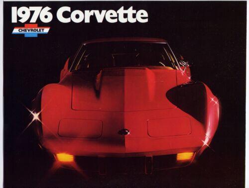 Chevrolet Corvette brochure Prospekt, 1976