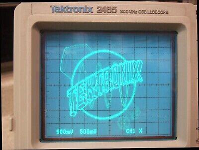 Tek Tektronix 2465 300 Mhz 4 Channel Analog Scope - Opt 11 - Refurbished In Cal