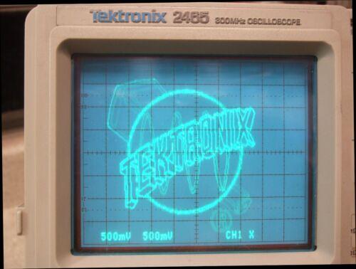 TEK Tektronix 2465 300 MHz 4 Channel Analog Scope - Opt 11 - Refurbished, In CAL