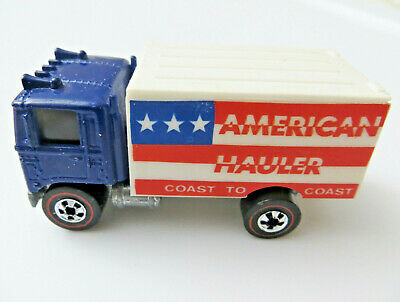 1976 Redline Hot Wheels Flying Colors American Hauler C-9+ NM Blue Truck CLEAN!
