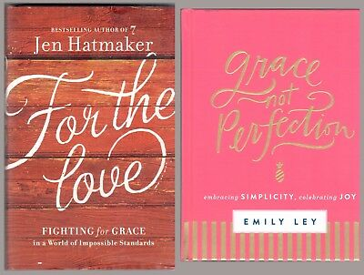 Love Yourself Bundle: Grace Not Perfection and For the Love 2 Book Set