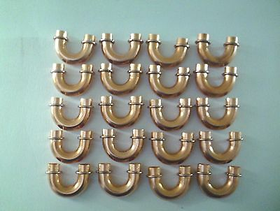 Lot Of 20 U Bend Copper Fitting