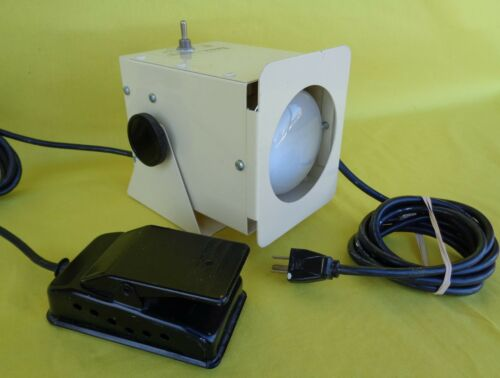 INFAB Corporation Hospital Light with Foot Pedal X-Ray Film Illuminator - 683800