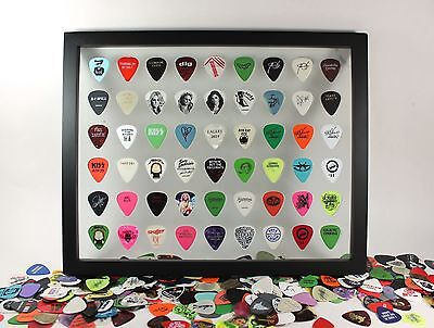 "Guitar Pick Display Frame Insert - 11"" x 14"" Horizontal - Holds 54 Guitar Picks!"
