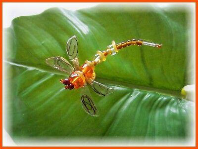 """Orna Lalo Design """"Libelle"""" Brosche Pin von Orna Lalo Dragonfly Brooch USA"""