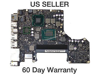 """Apple Macbook Pro 13"""" A1278 2012 Logic Board w/ i7-3520M 2.9Ghz CPU 820-3115-B"""