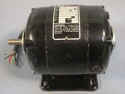 Bodine Electric Nsh-33 Small Motor 115 Vdc 120 Hp 1725 Rpm Nwob Nos