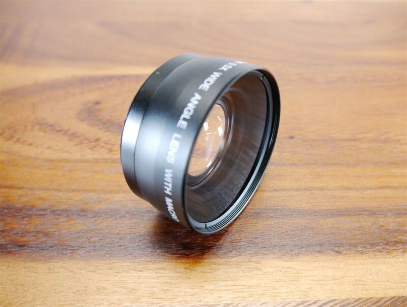 Digital Concepts 58mm High Definition 0.5x Wide Angle Lens w/ Macro