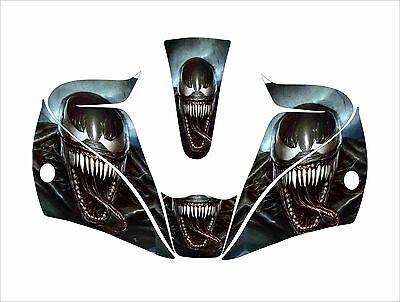 Lincoln Viking 2450 3350 Welding Helmet Wrap Decal Sticker Jig Venom Spiderman
