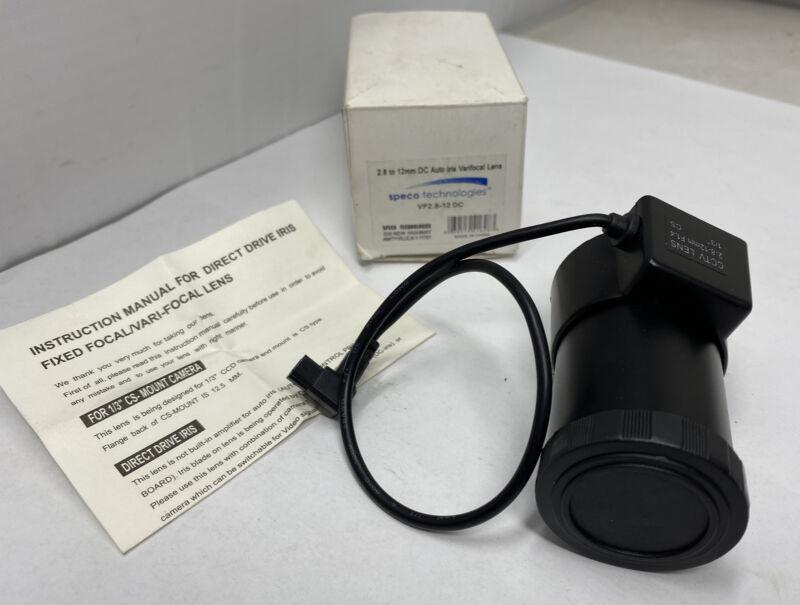 Speco Technologies VF2.8-12DC / VF2.812DC CCTV 2.8-12mm DC Vari-focal Lens (NEW)