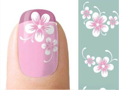 Nagel Sticker Nail Art Tattoo Fingernagel Aufkleber Rosen Schwarz Weiß