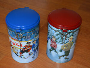 2 TIM HORTONS Limited Edition Tins (different prices)