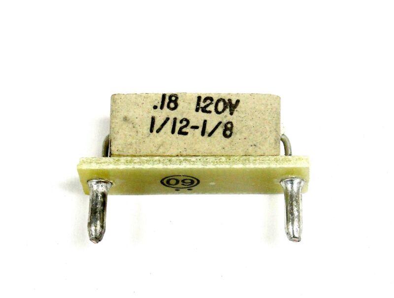 KB Electronics KB-9837 horsepower resistor 1/12-1/8hp @ 90-130vdc